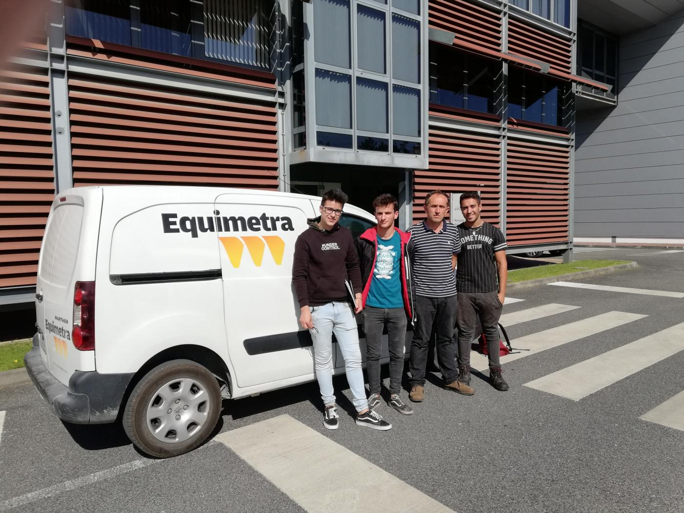 Foto:Equimetra receives in training students of Vocational Schools of Leiria, Ourém and Pombal